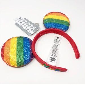 Rainbow Disney Pride Mickey Mouse Ear Headband